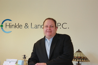 Terence Hayter, CPA, Tax Manager at Hinkle + Landers, P.C. received the Economic Forecaster Award from BBER in January 2…