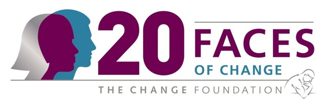 20 Faces of Change Awards logo