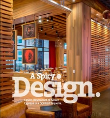 Marwood Inc. Cypress Veneer Featured in Design Solutions Project Highlighting Baltimore Casino