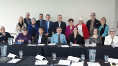 Health and Service providers gathered for roundtable discussion in order to better life for seniors in the Abbotsford, BC community.