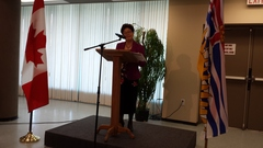 Minister Alice Wong, MP, Minister of State (Seniors) presents the keynote address.