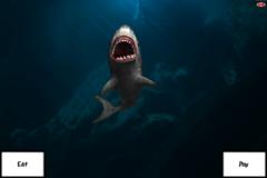 Finger Shark on the Move