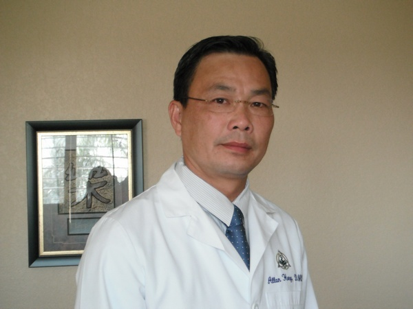 Dr. Allan Hong offers patients in his community a resource for oral health information.