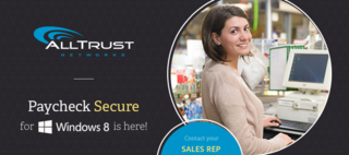 AllTrust Networks Releases Paycheck Secure for Windows 8