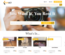 EyeForWeb feels proud to announce the launch of Kunact (www.kunact.com), an online portal that connects people who are willing to rent items with those who wish to rent them out.