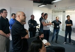 Prosoft Nearshore software developers in Costa Rica meet in San Jose for team building and training sessions.