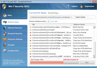 Fake Anti-Spyware Program Called Win 7 Security 2012 Reports False Computer Threats and Takes Your Money