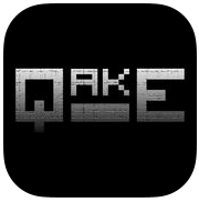 Irresistible Retro Game, Qake, Available in the iOS App Store