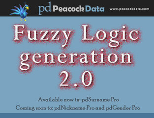 Peacock Data introduces fuzzy logic generation 2.0