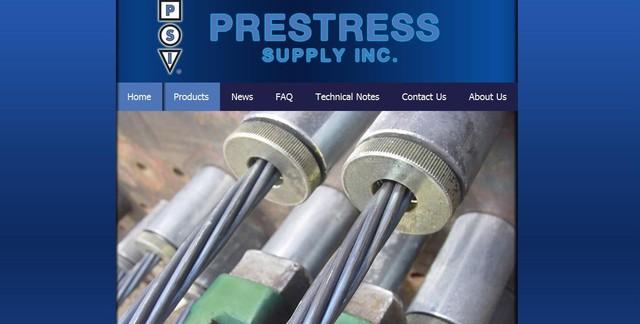 Prestress Supply Website