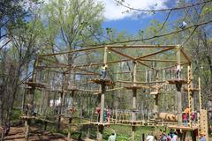 The Labyrinth will be a new addition to The Adventure park at The Discovery Museum designed for five- to 10-year-olds. (Photo: Outdoor Ventures)
