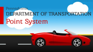 Allegheny Attorneys Help Clients Understand the Pennsylvania Department of Transportation Point System