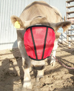 Two sizes available: cow/full, and calf. Colors: red, blue, yellow provide 50% UV ray protection;  black, brown, desert, 80% to  90% UV ray protection
