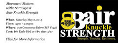 SSP Yoga is pleased to announce Movement Matters with Stacey Skilton-Pitz and John Bair.