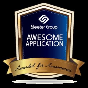 2015 Sleeter Awesome App Award