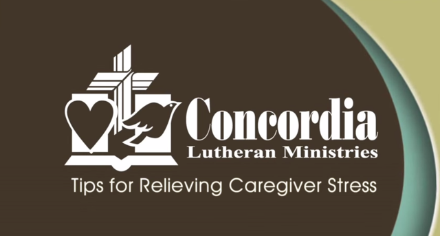 Being a caregiver can bring a lot of added stress into an individual's life. Don't let caring for your loved ones become a burden with help from Concordia's stress relieving tips.