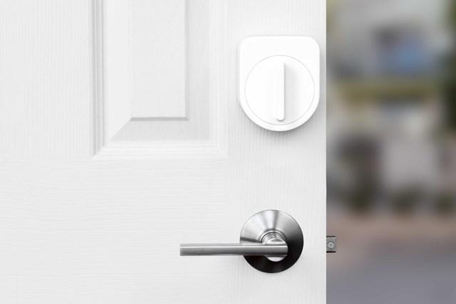 Sesame smart lock.