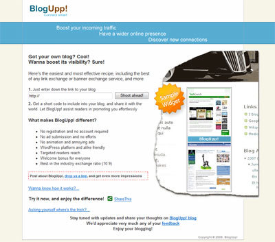BlogUpp! - Connect smart