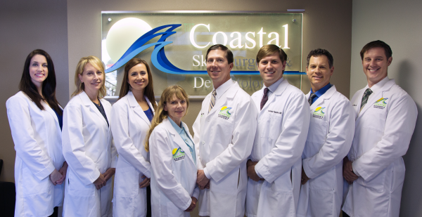 The team at Coastal Skin Surgery and Dermatology promotes skin cancer awareness by providing free screenings on Melanoma Monday.