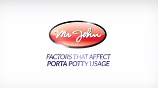 Mr. John Helps Clients Understand the Five Factors That Affect Porta Potty Usage