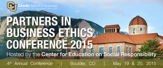 CU-Boulder's Leeds School of Business to host groundbreaking international conference on ethics