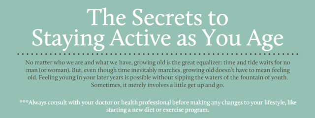 Don't let old age keep you down, discover the secrets to staying active with help from Concordia Lutheran Ministries.