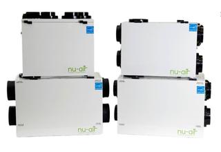 HVAC Brain Inc. Adds Nu-Air Energy Recovery Ventilators and Heat Recovery Ventilators