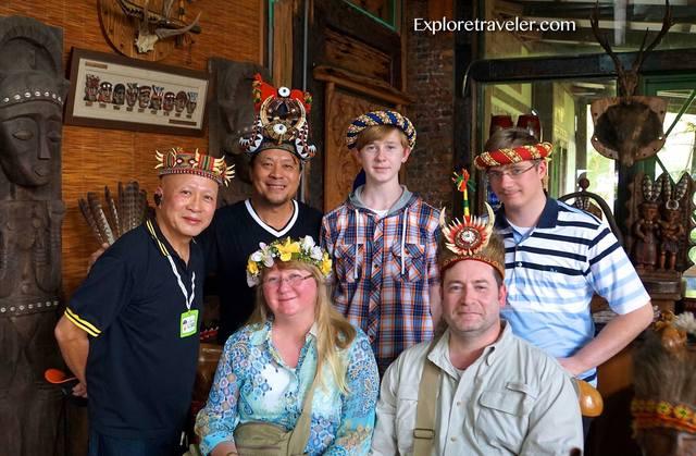 ExploreTraveler team with Taiwan aboriginal friends.