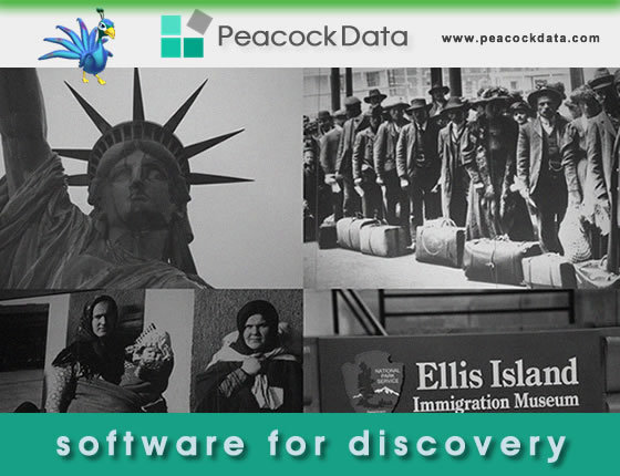 Peacock Data's flagship line of name software is by far the most complete set of historical first name, nickname, last name, and gender information available.