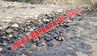 Spill Cleanup Under Way for Large Santa Barbara Oil Spill