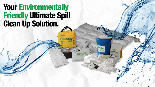 Monarch Green's patented high capacity spill cleanup products