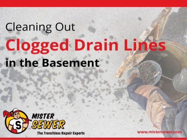 Make sure you know what to do if your basement drain clogs by checking out the latest slideshow from Mister Sewer.