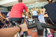 Louisville orthopedic Dr. Stacie Grossfeld enjoys participating in spin classes at the YMCA. Dr, Grossfeld was recently appointed to the YMCA Board of Directors.