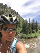 Louisville Sports Medicine Doctor Stacie Grossfeld MD enjoys cycling for fitness. She is looking forward to serving on the Board of Directors for the Louisville YMCA.