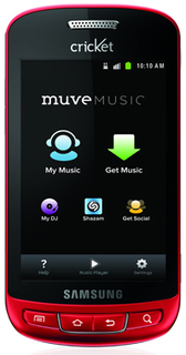Cricket's Muve Music is CTIA 2011 HOT FOR THE HOLIDAYS AWARDS FINALIST