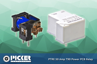 Picker Components Announces High Amperage Relay