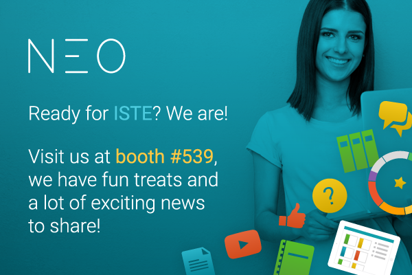 NEO at ISTE 2015