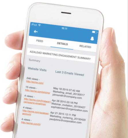 Azalead helps B2B companies accelerate their pipeline with Account Based Marketing (ABM).