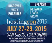 HostingCon Global 2015 Banner.