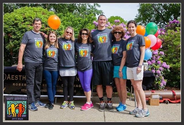 The Aesthetic Dental Center team at the Best Buddies Friendship Walk