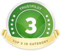 TrustPilot - Top 3 in category