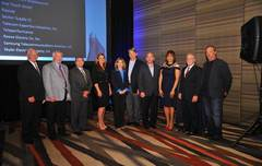 Sector Supply accepts AT&T Prime Supplier Crystal Award for 2014