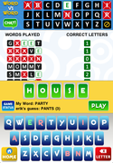 Word vs Word Gameboard