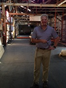 Russell Gay, Vacuum Authority President and Owner, is enjoying new company headquarters which includes additional warehouse storage space for products.