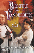 The image on the cover of Bonfire of the Vanderbilts is detail from Julius LeBlanc Stewart's 1892 painting The Baptism. The look on the priest's face hints at impending misfortune and heartache.