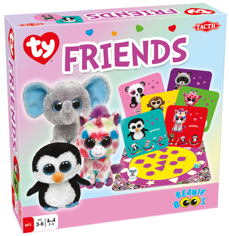 Tactic Games Beanie Boos Friends Game