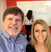 Scott Barron, CEO of School Growth with Carole Williams, Regional Vice President of Smart Tuition at a recent School Growth Lab in Tampa, Florida.<br />