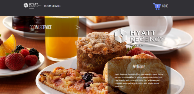 Hyatt Regency Houston now offers faster more effective online in-room service for guests.