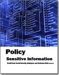 User Bill of Rights for Sensitive Information and Privacy released by Janco