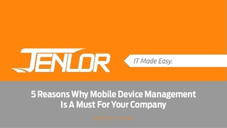Discover Why Now is the Time to Mobilize Your Business with Help from JENLOR Integrations